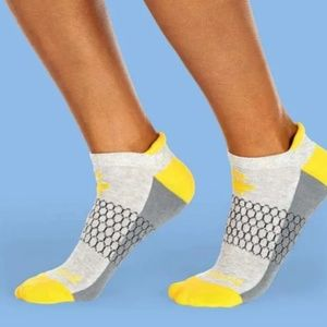 Bombas Original Ankle socks - gray/yellow - NWT